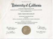 Diploma de Master of Arts in Music