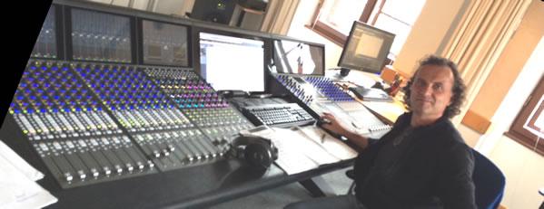 Omid Bürgin na Franz Liszt Studios (Tonregie)