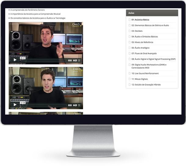 Curso de Áudio Fundamentos em Vídeo Aulas