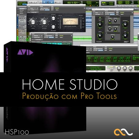 Home Studio - Produção Musical com Pro Tools