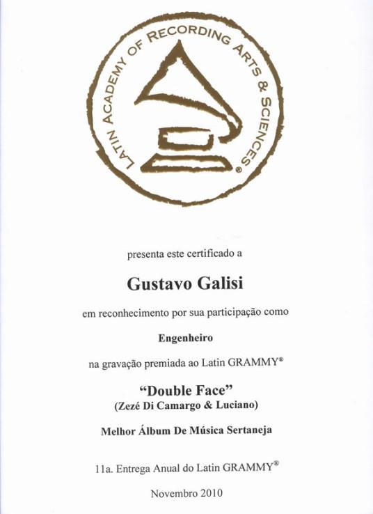 Aluno de Curso de Áudio ganha Grammy