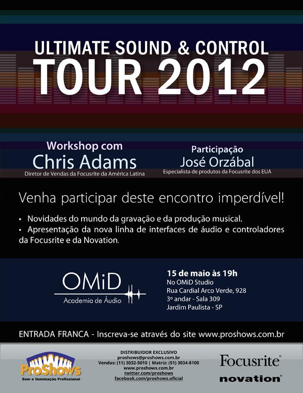 Ultimate Sounds Control Tour 2012 na Audio Academy