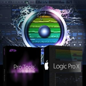 Software de Áudio: ProTools e Logic Pro X