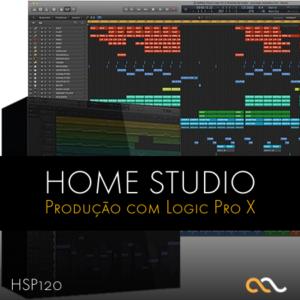Home Studio Produção Musical com Logic Pro X