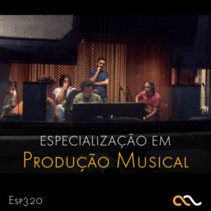 Especialização Produção Musical