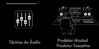 Tecnico de Audio Produtor Musical Produtor Executivo